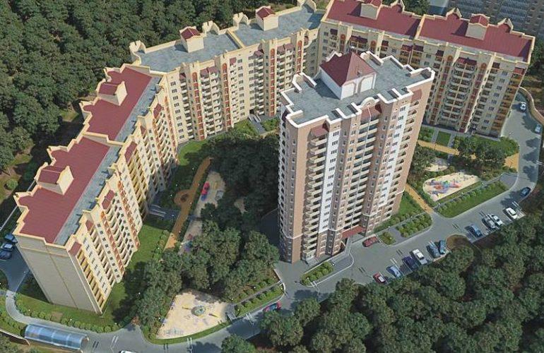Проект 9-этажного дома в Украинке